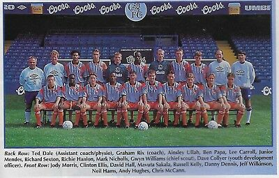 Chelsea Youth Team Football Photo>1994-95 Season