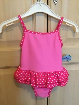 4d76082b0b BABY GIRLS NEW WITH TAGS HOLIDAY SWIMSUIT Swimming Costume Age Size 9 - 12 M