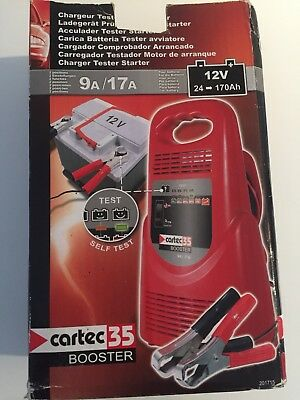 CHARGEUR BATTERIE AUTO MOTO PROFESSIONNEL INTELLIGENT  voiture Cartec 35 Booster