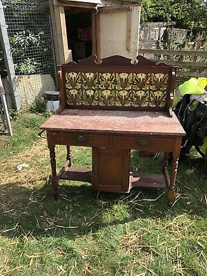 antique mahogany wash stand