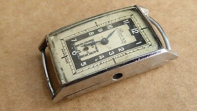Gents vintage Rocar watch with sub dial for repair.