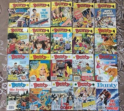 Job Lot Of  20 Vintage Bunty Picture Story Magazines