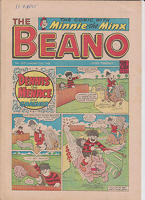 The BEANO UK COMIC January 23 1988 No. 2375 Original Birthday Gift !