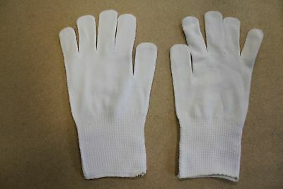 Job Lot Wholesale 100+ Pairs Of White Thermal / Parade Gloves Mixed Sizes
