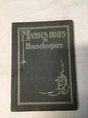 Antique Advertising Advance Stove Range Mama's Hints to Housekeepers Cookbook