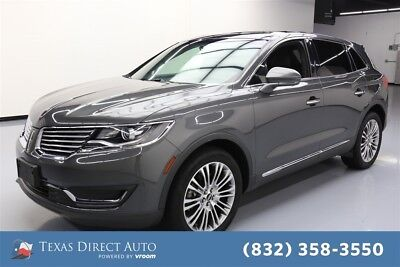 Lincoln MKX Reserve Texas Direct Auto 2017 Reserve Used 3.7L V6 24V Automatic AWD SUV