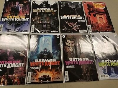 Batman White Knight #1-8 - Complete Series - DC Comics - Sean Murphy