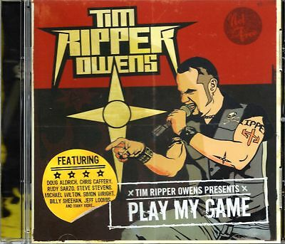Tim Ripper Owens (Judas Priest) - Play My Game (2009 CD) Doug Aldrich/Rudy Sarzo