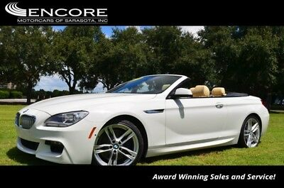 6-Series 650i Convertible W/M Sport and Driver Assistance P 2015 BMW 6 Series 650i Convertible W/M Sport and Driver Assistance P 20,423 Mile
