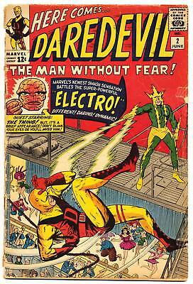 DAREDEVIL #2 FA, 2nd app. ELECTRO! Marvel Comics 1964