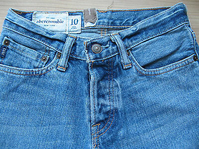 Genuine Boys Abercrombie New York Denim Jeans Trousers Age 10 Years Look