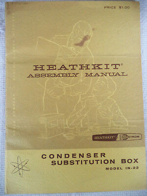 Heathkit Assembly Manual for Model IN-22 Condenser Substitution Box