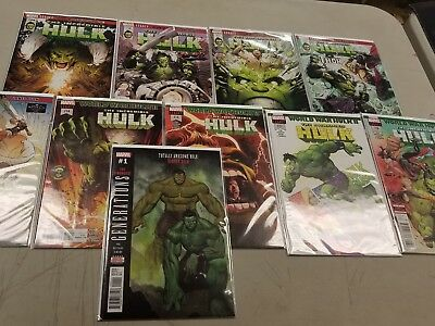 Incredible Hulk #709-716 & Bonus: Generations- the Strongest
