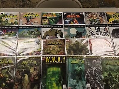 Totally Awesome Hulk #1-23 & W.M.D. #1 (Tie-In) - MARVEL - Comic Books