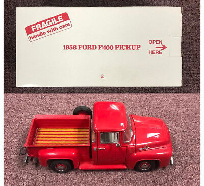 1956 Ford F-100 Pickup Danbury Mint 1/24 Scale Diecast Model Car in Original Box