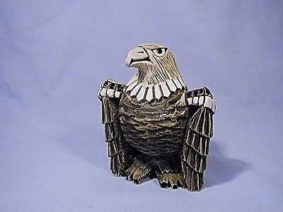 "A 4 1/2"" Pottery Eagle Thunderbird Figurine ..but"
