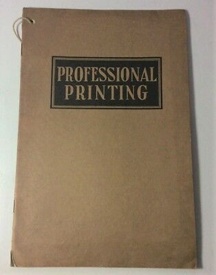 Vintage Kruse Printing Catalog for Doctor's Hospitals etc. - Early 1900's