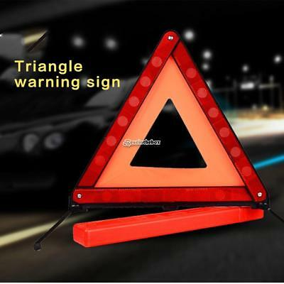 Warning Foldable Safety Triangle Roadside Hazard Sign Symbol for B98B