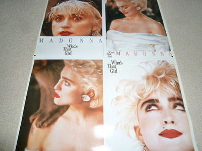 MADONNA - WHO'S THAT GIRL : 1987 JAPAN promo-only POSTER : very rare/not CD