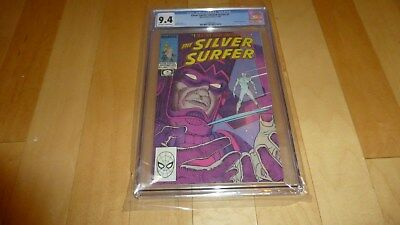 Silver Surfer 1 Limited Series CGC 9.4 (1988, Marvel Epic Comics) Galactus