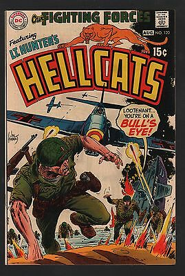 Our Fighting Forces #120 VF+ 8.5 Off White Pages
