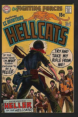 Our Fighting Forces #121 VF/NM 9.0 Off White Pages