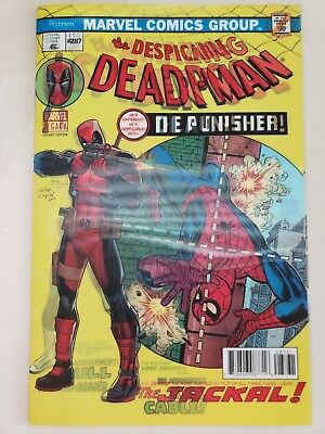 The Despicable Deadpool #287 (2017) Marvel Amazing Spider-Man #129 3D Variant Nm