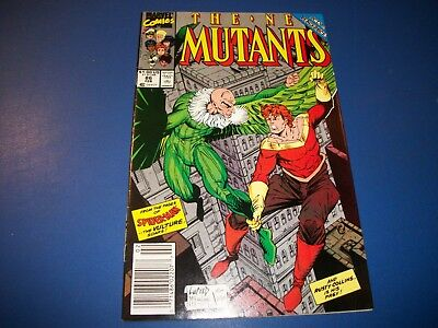New Mutants #86 1st Cable Cameo McFarlane