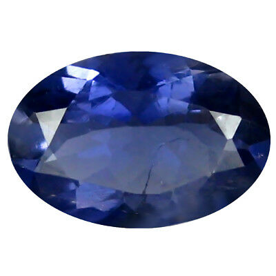 1.24 ct AAA Grand looking Oval Shape (9 x 6 mm) Blue Iolite Natural Gemstone