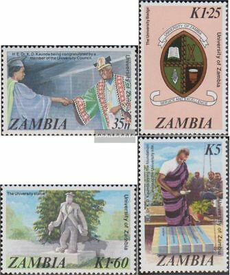 Topical Stamps Wwf Sambia Zambia 1987 Mi 438-441 4 First Day Covers Fdc Waterbuck