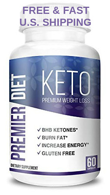 LOSE WEIGHT FAST Premier Diet KETO Extreme Fat Burner Carb Block Energy BHB SALT