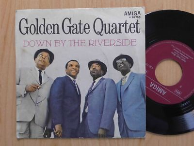 "Golden Gate Quartet Ddr Amiga 7"": Down By The Riverside/saint Louis Blues"