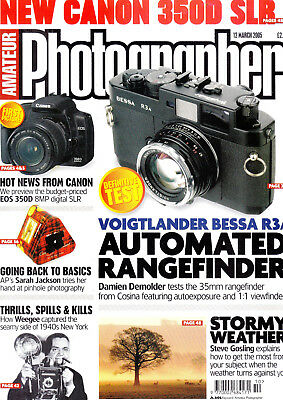 Amateur Photographer magazine tested  Voigtlander Bessa R3A   12 March  2005