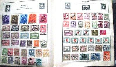 Unchecked Selection Of Early Hungary Stamps.  Lot#186