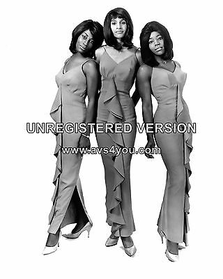 "The Ikettes / Tina Turner 10"" x 8"" Photograph no 2"