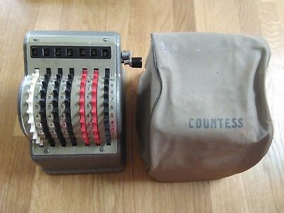 """COUNTESS"" adding machine in very good condition"