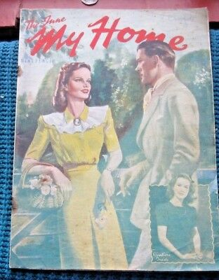 Vintage Magazine,, My Home   June 1946