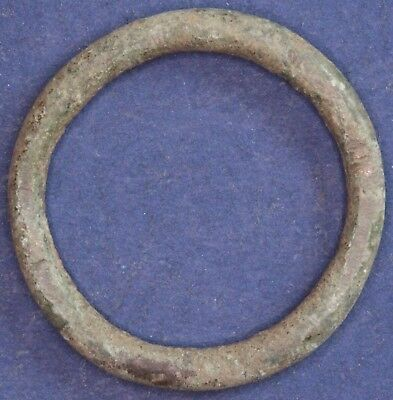 Iron Age Danubian Celtic Proto ring coin, 1st to 5th Century BC 25mm *[13443]