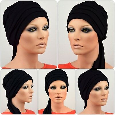 Damen Turbanmütze ELEGANCA MÜTZE Chemo Wickel Turban Chemotherapie Cap Cindy NEU