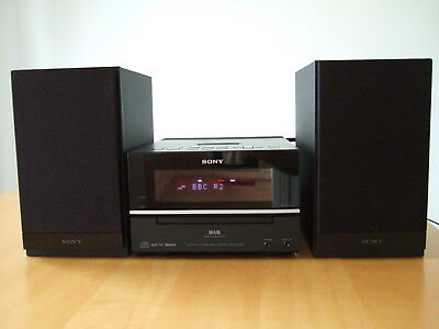 Sony CMT-BX70DBi Micro Hi-Fi component DAB Audio Shelf System Docking Station