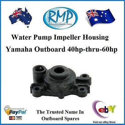 1 x New RMP Water Pump Impeller Housing Yamaha Outboard 40hp-60hp # R 63D-44311