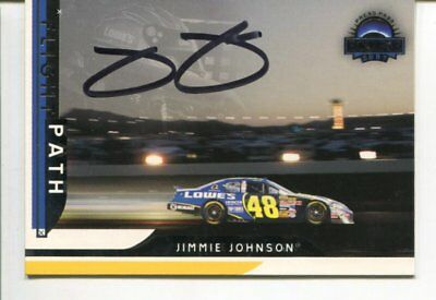 NASCAR driver JIMMIE JOHNSON with COA Signed autograph NO RESERVE B1850