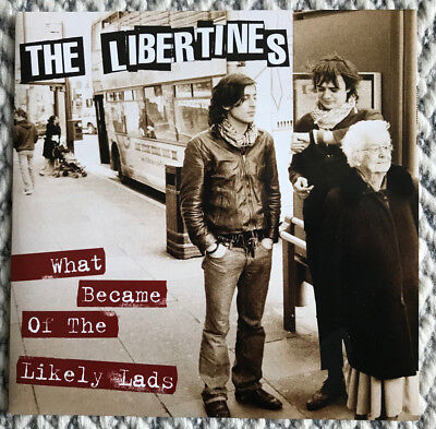 """The Libertines What Became Of The Likely Lads - Boys in the Band  7"""" Single"""