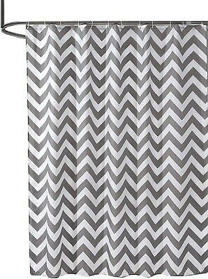 Brand new in packaging Grey Wave Print Sfoothome Shower Curtain Bathroom...