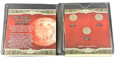 First Commemorative Mint Last 3 Years of Liberty V Nickel 1910 To 1912