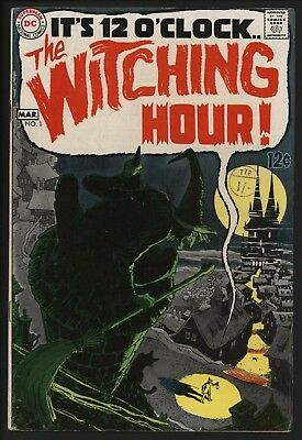 Witching Hour #1 Neal Adams & Alex Toth Art With White Pagses. 1969