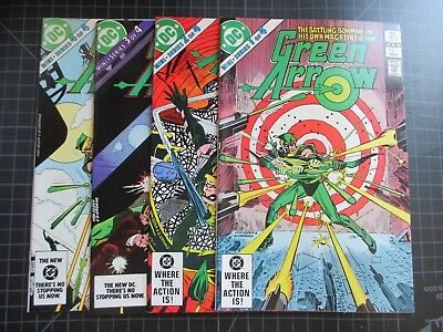 Dc Green Arrow Mini-Series #1-4 1983 Nice Copies