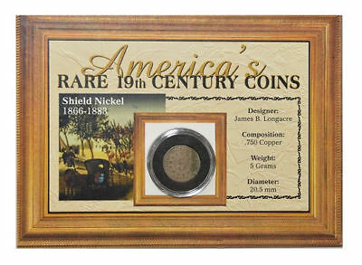 The Morgan Mint America's Rare 19th Century Coins: 1866-83 Shield Nickel