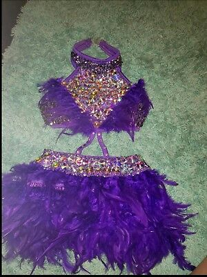 Childs Large Competition Dance Costume