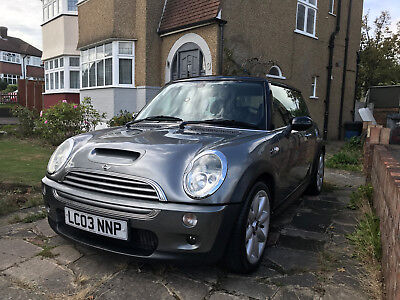 Grey Mini Cooper S (2003) with Chilli Pack - Excellent Condition Inside Out